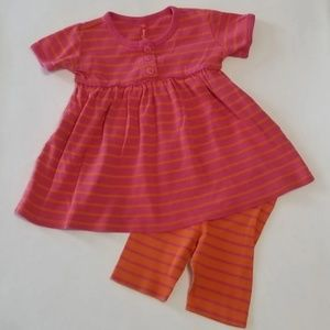 Hanna Andersson baby girl play set Outfit dress